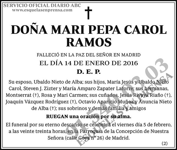 Mari Pepa Carol Ramos